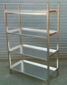 Stainless Steel 4 Shelf Rack